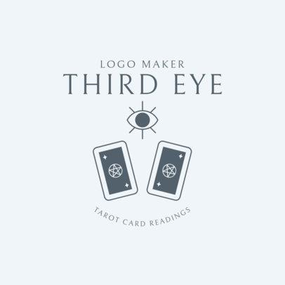 Mystic Logo Maker for a Tarot Reader