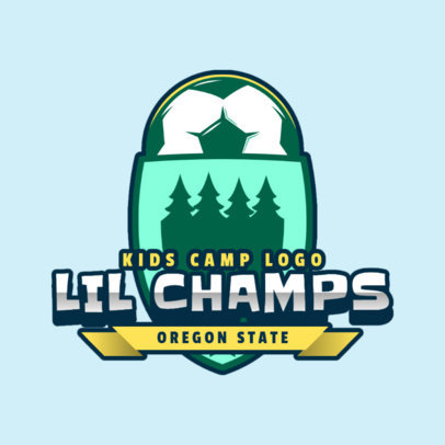 Logo Maker for a Soccer Kids Summer Camp 2753d