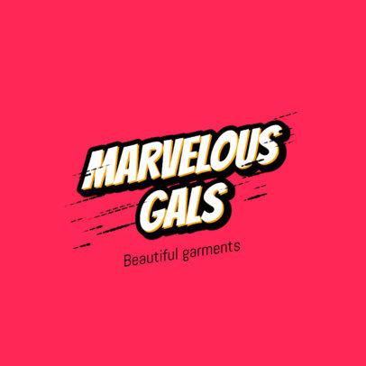 Streetwear Logo Generator for Cool Girls 2752a