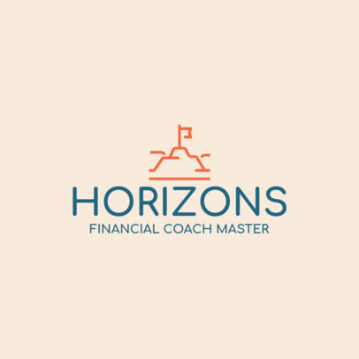 Simple Financial Coaching Logo Maker 2551l 266-el