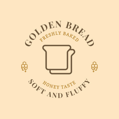 Logo Design Maker for a Sweet Bakery with a Bread Icon