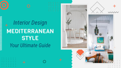YouTube Banner Generator for Channel About Interior Design 2053e