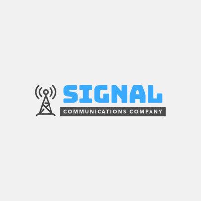 Logo Design Creator for a Communications Company 292-el