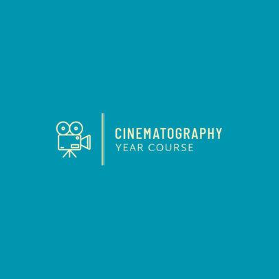 Logo Maker for a Cinematography Course 275b-el