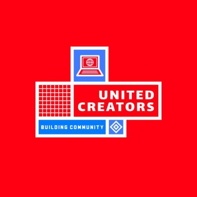Logo Template for a Community Working Building 2771e