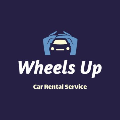 Logo Creator for a Car Rental Services Company 2774a