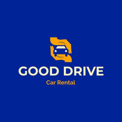Online Logo Template for a Car Rental Service 2774f