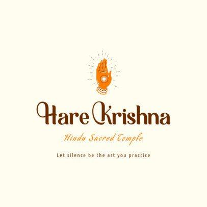 Online Logo Maker Featuring Hindu Symbols 2782