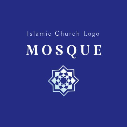 Online Logo Template for a Mosque 2783c