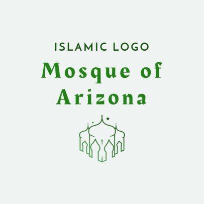 Customizable Logo Maker for a Mosque 2783e
