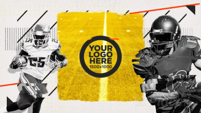 Football Templates for the Big Game!