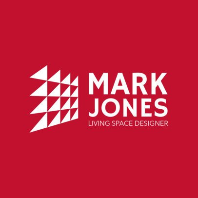 Modern Logo Template for Interior Design Firms 1210p 2796