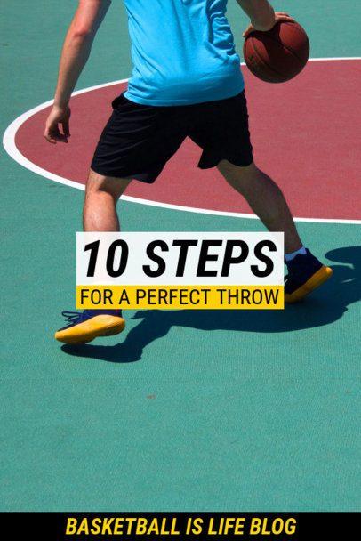 Basketball Pinterest Pin Maker for a Tips Post 2085e