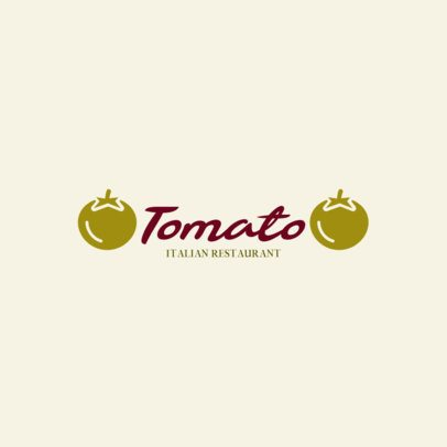 Elegant Logo Maker for an Italian Restaurant 286c-el1