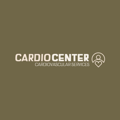 Simple Logo Maker for a Cardiovascular Center 460c-el1