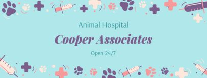 Facebook Cover Maker for an Animal Hospital Page 2120b