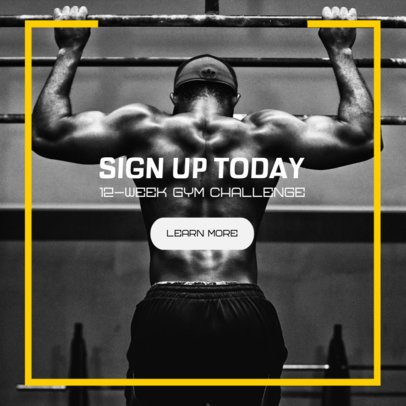 Fitness Banner Maker for a Gym 362m 2068