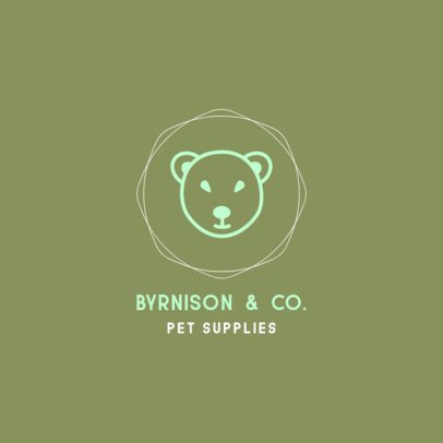 Logo Template for a Pet Supplies Store 329c-el1