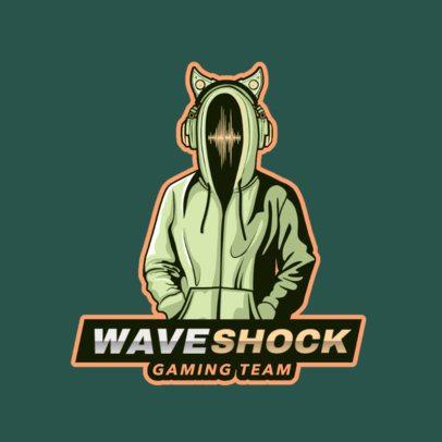 Hacker-Themed Logo Generator for Gamers 2815j