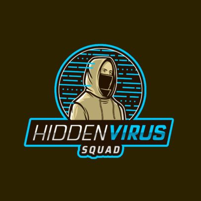 Hacker-Inspired Logo Maker for a Gaming Squad 2815k