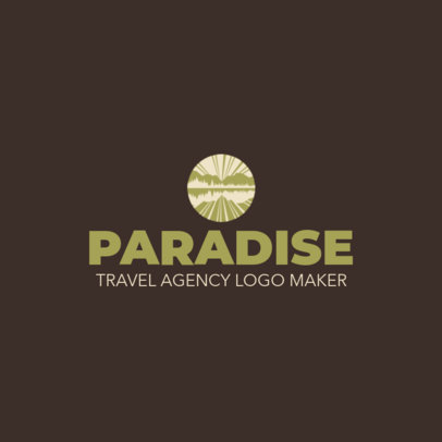 Simple Logo Template for a Travel Agency 1148l-2797