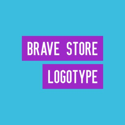 Minimal Logo Template for a Streetwear Brand 2721h-2833