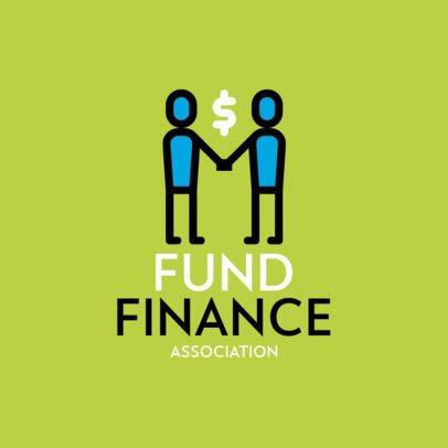 Logo Maker for a Finance Association 497a-el1