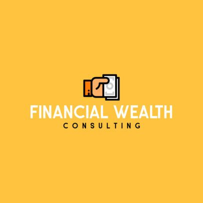 Logo Template for Financial Consulting Services 497c-el1