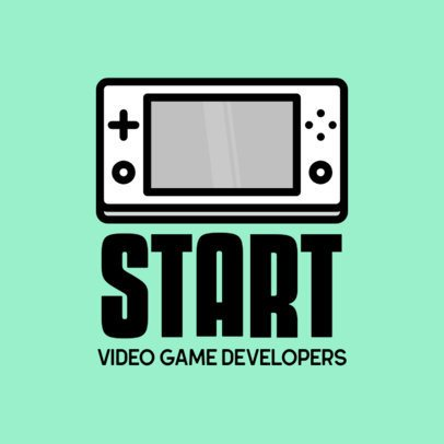 Logo Maker for a Gaming Developing Brand 341a-el1