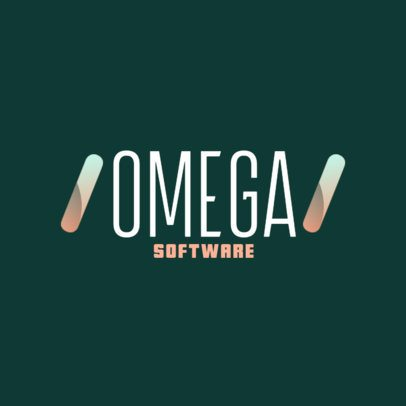 Online Logo Creator for a Software Company 2374h-2838