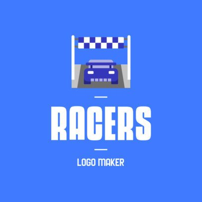 Online Logo Maker for Car Racers 382a-el1