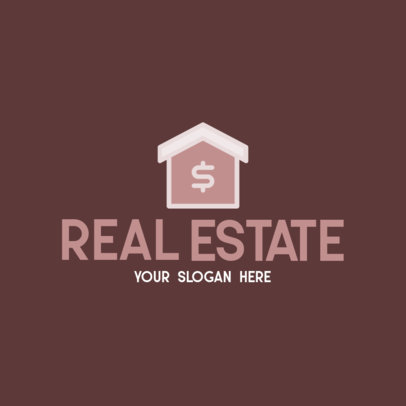 Logo Template for a Modern Real Estate Agency 260-el1