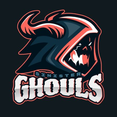 Gaming Logo Maker Featuring a Creepy Creature Graphic 1750u-2856