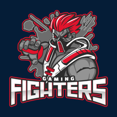 Modern Logo Maker for a Gaming Fighters Squad 1750x-2859
