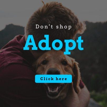 Banner Template for an Adoption Pet Center 2152a