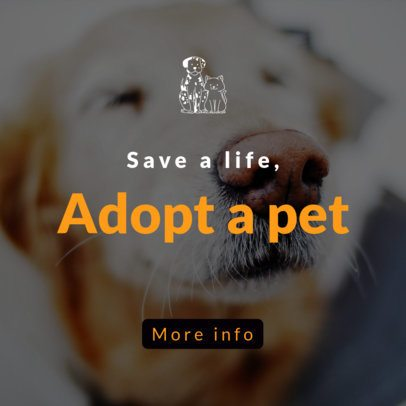 Pets-Themed Banner Generator with Dog Graphics 2152d