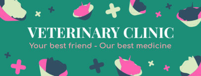 Veterinary Clinic Facebook Cover Template 2120g 2147