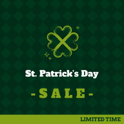 Facebook Post Maker for a Saint Patrick's Day Offer 2181