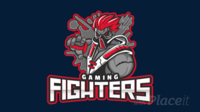Modern Animated Logo Maker for a Gaming Fighters Squad 1750x-2859