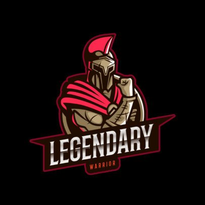 Gaming Logo Maker with a Spartan Theme 2872