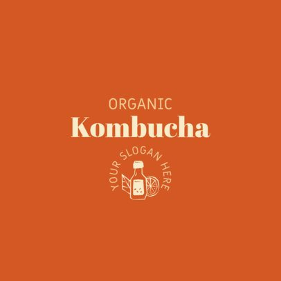 Logo Maker for an Organic Kombucha Brand 2842f