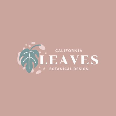 Logo Maker for a Botanical Design Store 2839b