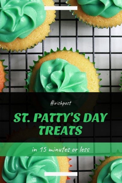 Pinterest Pin Maker for St Patricks Day Treat Recipes 2183e