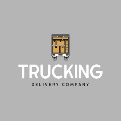 Online Logo Creator for a Delivery Truck Company 616a-el1