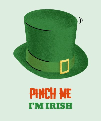 Fun T-Shirt Design Maker for a St. Patrick's Day Party 2167a