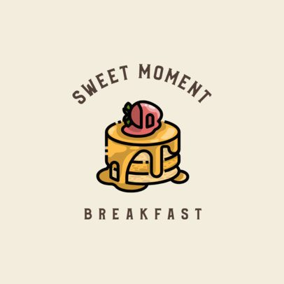 Online Logo Templates for a Bakery Featuring Dessert Graphics 609-el1