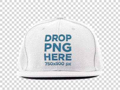 Hat Mockup Over a Transparent Background 11703