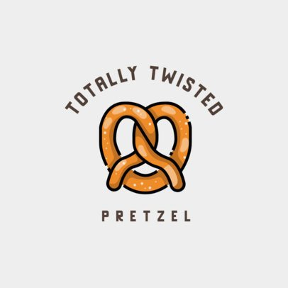 Bakery Logo Maker with a Pretzel Graphic 609a-el1
