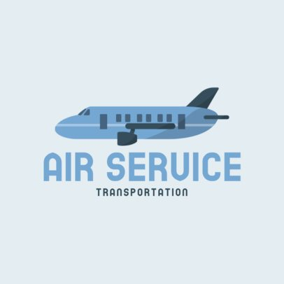 Logo Maker for an Air Transportation Service 702a-el1