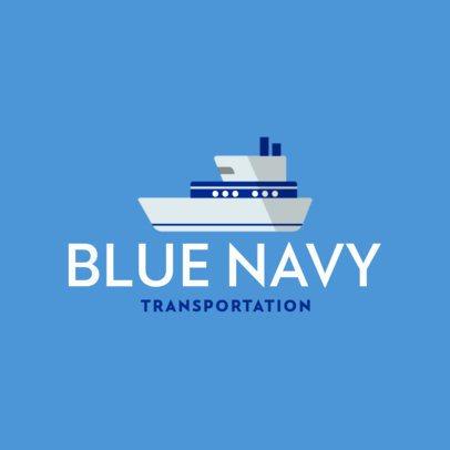 Logo Generator for a Marine Transportation Company 702b-el1
